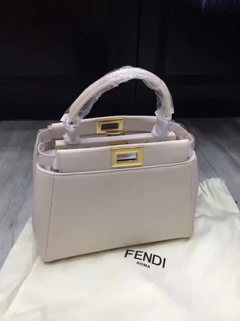 c142c4c06c4b fendi mini light gray peekaboo handbags  fendi26  -  367.00   Luxury ...