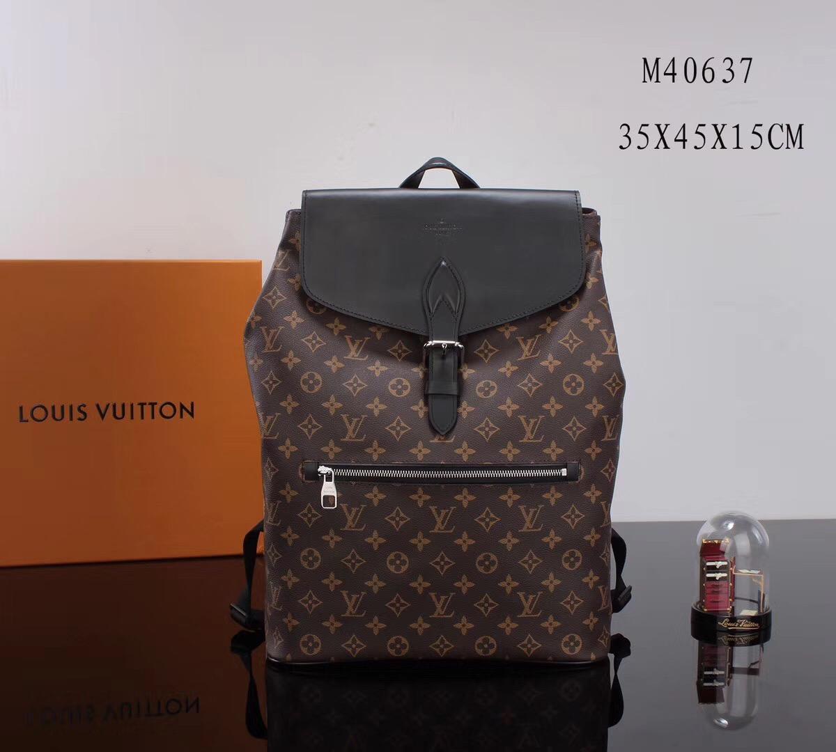 077df3228a45 LV Louis Vuitton Palk M40637 Backpack bags Monogram Handbags